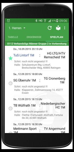 TuS Lintorf Handball App